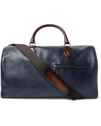 Berluti - Jour-off Mm Leather Holdall - Lyst