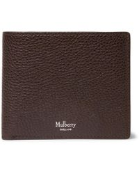 ac87948b08f9 Lyst - Mulberry Leather Billfold and Coin Wallet in Brown for Men