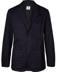 Arpenteur - Navy Cotton-twill Blazer - Lyst