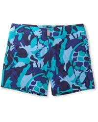 Vilebrequin - Merise Mid-length Printed Swim Shorts - Lyst