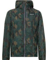 Patagonia - Houdini Packable Camouflage-print Nylon-ripstop Hooded Jacket - Lyst