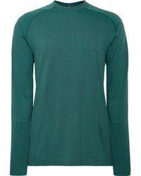 4fab0862f854d2 lululemon athletica - Metal Vent Tech Ls Stretch-jersey T-shirt - Lyst