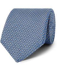 Etro - 8cm Woven Silk And Linen Tie - Lyst