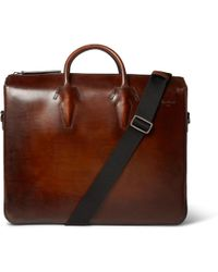 Berluti - Profil Deux Leather Briefcase - Lyst