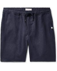 Derek Rose - Sydney Linen Drawstring Shorts - Lyst