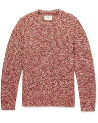 Folk | Mélange Cotton Sweater | Lyst