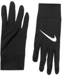 Nike - Element Dri-fit Stretch-jersey Gloves - Lyst