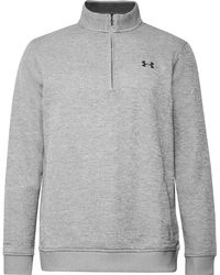 Under Armour - Storm Fleece-back Jersey Half-zip Golf Sweatshirt - Lyst