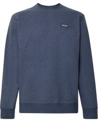 Patagonia - Mélange Fleece-back Organic Cotton-blend Jersey Sweatshirt - Lyst