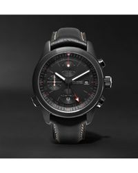 Kingsman - Bremont Alt1-b Automatic Chronograph 43mm Stainless Steel And Leather Watch - Lyst