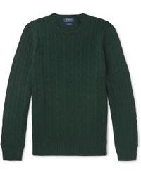 Polo Ralph Lauren - Cable-knit Cashmere Jumper - Lyst