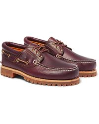 Timberland - Authentics Leather Boat Shoes - Lyst