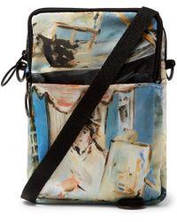 f9c88d4feff4 Lyst - Off-White C O Virgil Abloh Logo Strap Cotton Denim Bag for Men