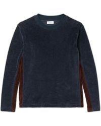 Fanmail - Organic Cotton-velour Sweatshirt - Lyst