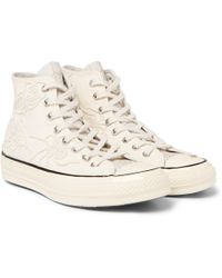 Converse - + Dr Woo 1970s Chuck Taylor All Star Embroidered Canvas High-top Trainers - Lyst