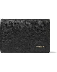 Givenchy - Eros Pebble-grain Leather Bifold Cardholder - Lyst