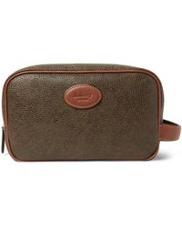 Mulberry - Pebble-grain Leather Wash Bag - Lyst