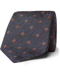 Brunello Cucinelli - 7.5cm Silk-jacquard Tie - Lyst