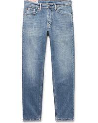 Acne Studios - River Slim-fit Tapered Stretch-denim Jeans - Lyst