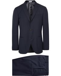 Boglioli - Blue Dover Slim-fit Virgin Wool Suit - Lyst
