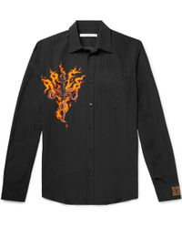 Givenchy - Printed Voile Shirt - Lyst
