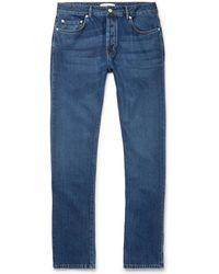 Officine Generale - Kurt Slim-fit Denim Jeans - Lyst