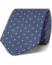 BOSS - 7.5cm Polka-dot Silk-jacquard Tie - Lyst