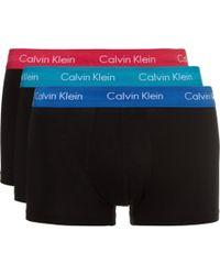 Calvin Klein - Three-pack Stretch-cotton Boxer Briefs - Lyst