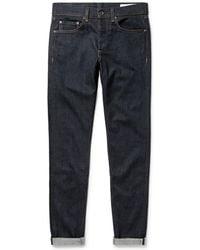 Rag & Bone - Fit 1 Skinny Selvedge Denim Jeans - Lyst