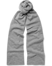 John Smedley - New Wool Scarf - Lyst