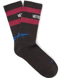 Vetements - Logo Socks - Lyst