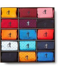 London Sock Co. - 15-pack Cotton-blend Socks - Lyst