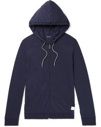Paul Smith - Slim-fit Cotton-jersey Zip-up Hoodie - Lyst