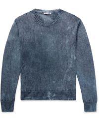Our Legacy - Mélange Hemp Sweater - Lyst