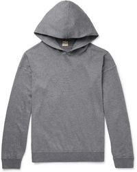 Massimo Alba - Cotton And Cashmere-blend Hoodie - Lyst