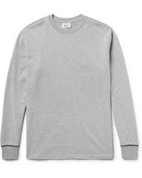 Sleepy Jones - Powell Cotton-jersey Pyjama T-shirt - Lyst