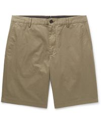 Burberry - Cotton-twill Shorts - Lyst