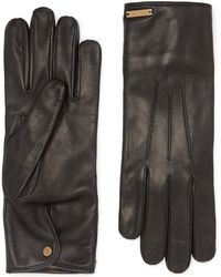 Burberry - Cashmere-lined Leather Gloves - Lyst