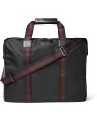 Paul Smith   Leather-trimmed Shell Suit Carrier   Lyst