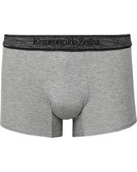 Ermenegildo Zegna - Stretch-modal Boxer Briefs - Lyst