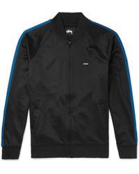 Stussy - Striped Jersey Jacket - Lyst