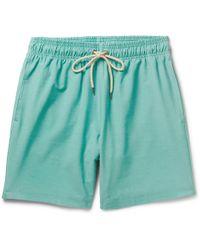 Faherty Brand - Beacon Mid-length Swim Shorts - Lyst