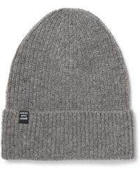 Herschel Supply Co. - Cardiff Ribbed Cashmere And Wool-blend Beanie - Lyst 09c14eb6b227