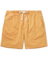 J.Crew | Stretch-cotton Drawstring Shorts | Lyst