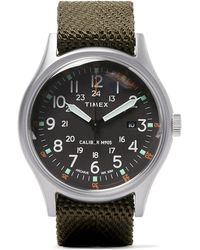 Timex - Camper Mk1 Stainless Steel And Nylon-webbing Watch - Lyst