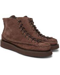 Yuketen - Sneaker Moc High Leather Boots - Lyst