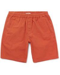 Folk | Garment-dyed Cotton-ripstop Drawstring Shorts | Lyst