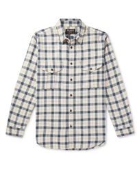 Filson - Alaskan Guide Checked Cotton-flannel Shirt - Lyst