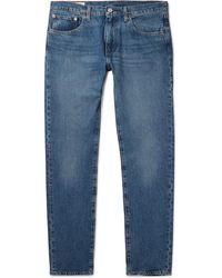 Levi's - 512 Slim-fit Tapered Cotton-blend Denim Jeans - Lyst