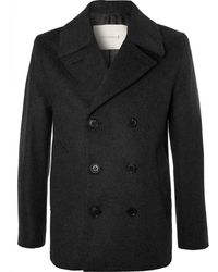 Mackintosh - Double-breasted Wool And Cashmere-blend Peacoat - Lyst